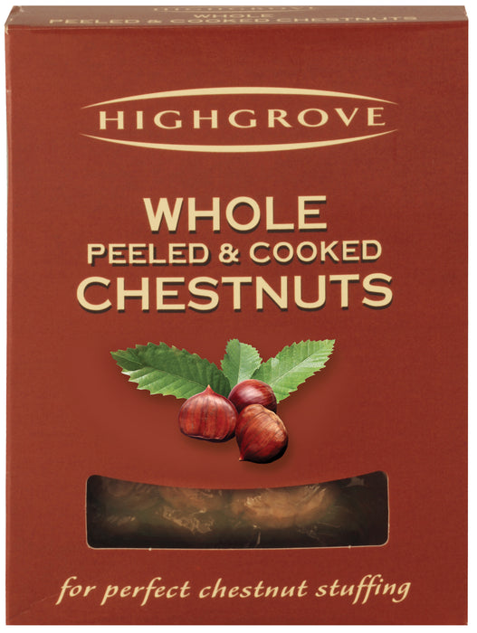 Highgrove Whole Peeled Chestnuts