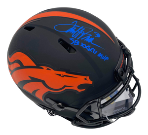 Terrell Davis Signed Eclipse Speed Authentic