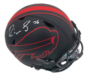 Devin Singletary Signed Eclipse Speed Authentic