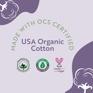 Organic Cotton Pads - Regular 32 Count