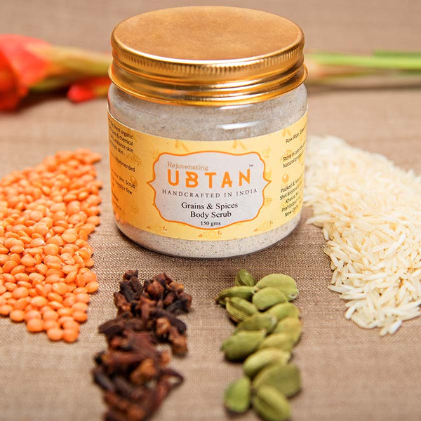 Grains & Spices Body Scrub
