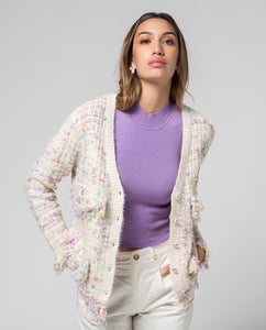 Chaqueta Chanel cruda