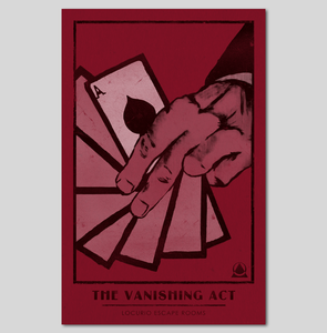 The Vanishing Act Poster