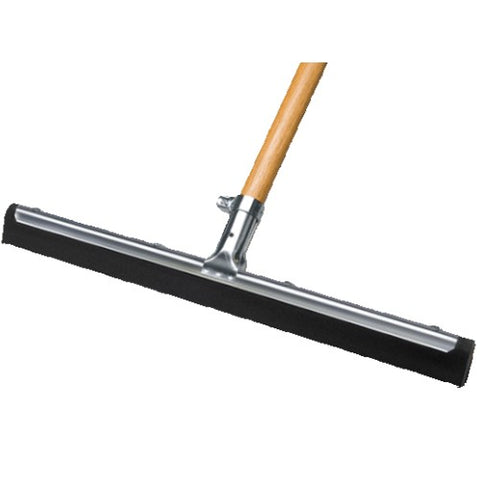 "30"" MUS Super Floor Squeegee w/54"" Wood Handle"
