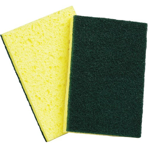 Green/Yellow Scrub Pad