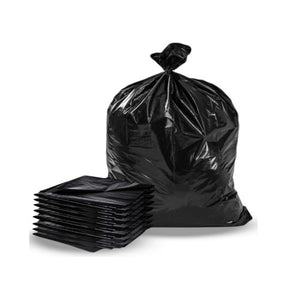 "24""x22"" Black Garbage Bags, 500/case"