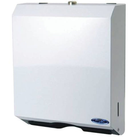 Frost 105 Multifold Towel Dispenser, White Metal