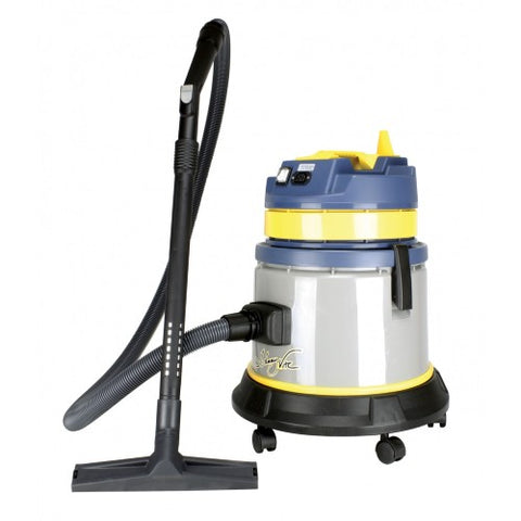 Commercial Wet/Dry Cannister Vacuum 5.9gal w/accessories