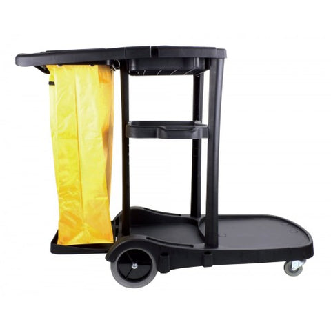 Janitorial Cart, Black