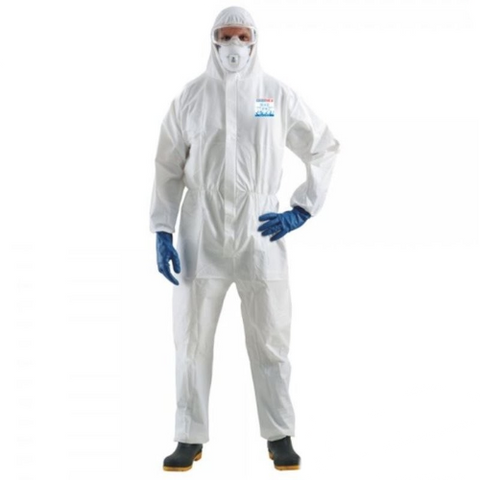 Microporous Coveralls, Size Large