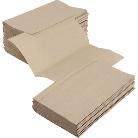Natural Single Fold Towels