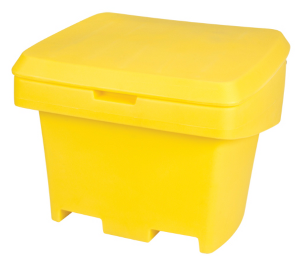 Salt/Sand Storage Bin - Yellow