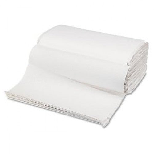 White Single Fold Towels