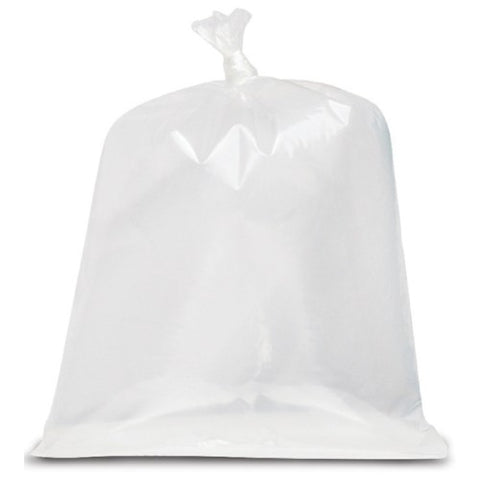 "30""x38"" Clear Garbage Bags Strong, 200/case"