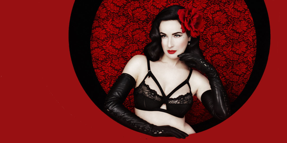 INTRODUCING DITA VON TEESE LINGERIE