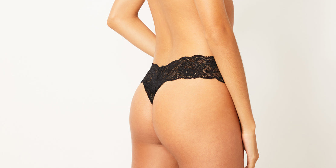 UP, UP & AWAY | COSABELLA CUTIE LACE THONG