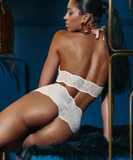 SYDNEY HIGH WAIST PEARL THONG
