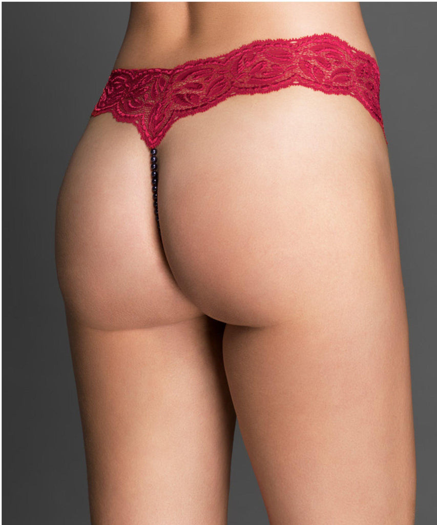16f081517fef5 Shop Bracli | Lingerie | G-String | Pearl Lace Thong | Afterpay ...