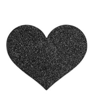 FLASH HEART BLACK-PASTIES-BIJOUX INDISCRETS-Porte-à-Vie