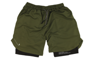 001. Cross-Functional Shorts - Army Green
