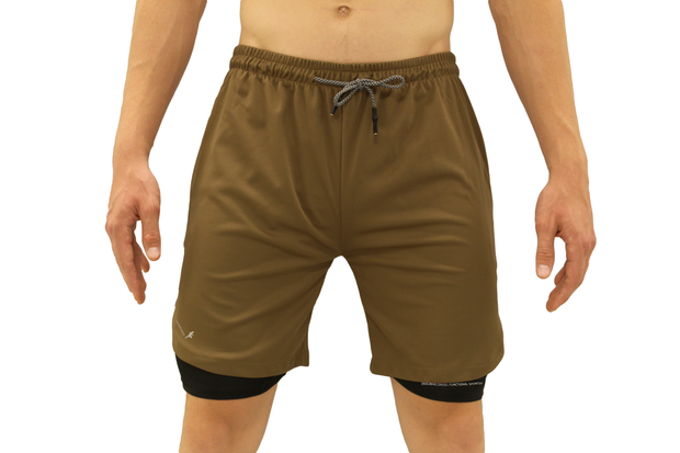 001. Cross-Functional Shorts - Brown