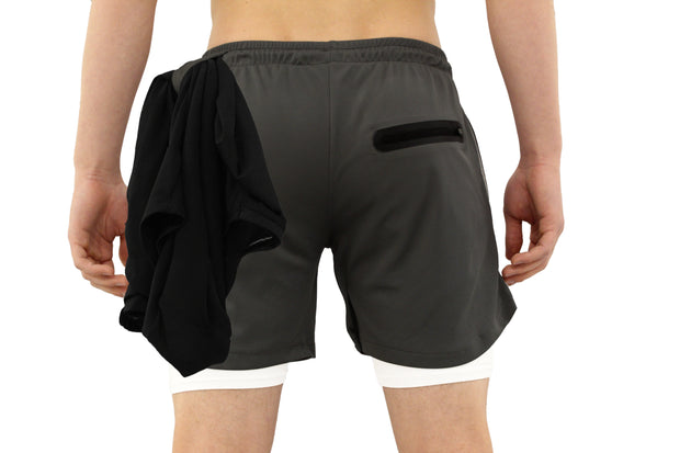 001. Cross-Functional Shorts - Charcoal