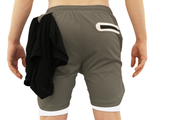 001. Cross-Functional Shorts - Light Gray