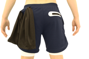 001. Cross-Functional Shorts - Navy Blue