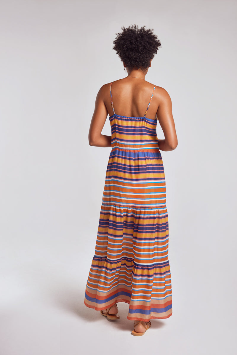 Sanctuaire-Hope-For-Flowers-tiered-striped-maxi-slip-dress