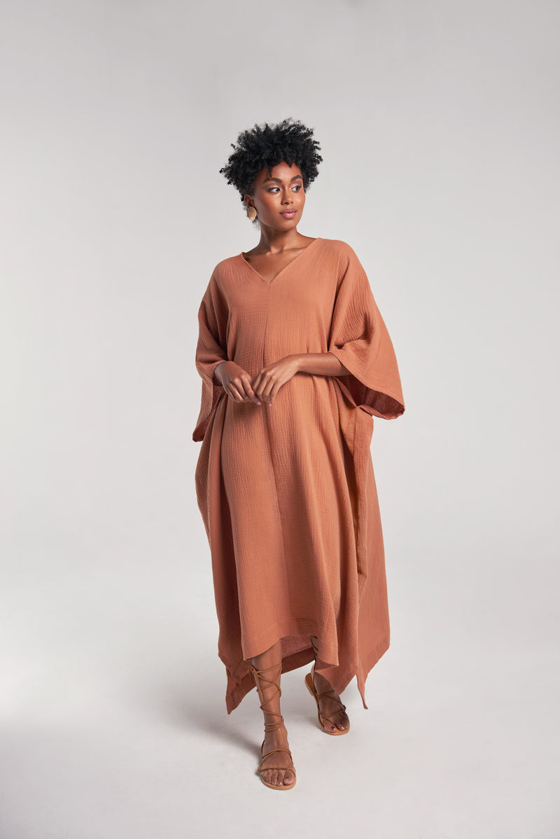 Sanctuaire-Kaftans-luxury-v-neck-kaftan
