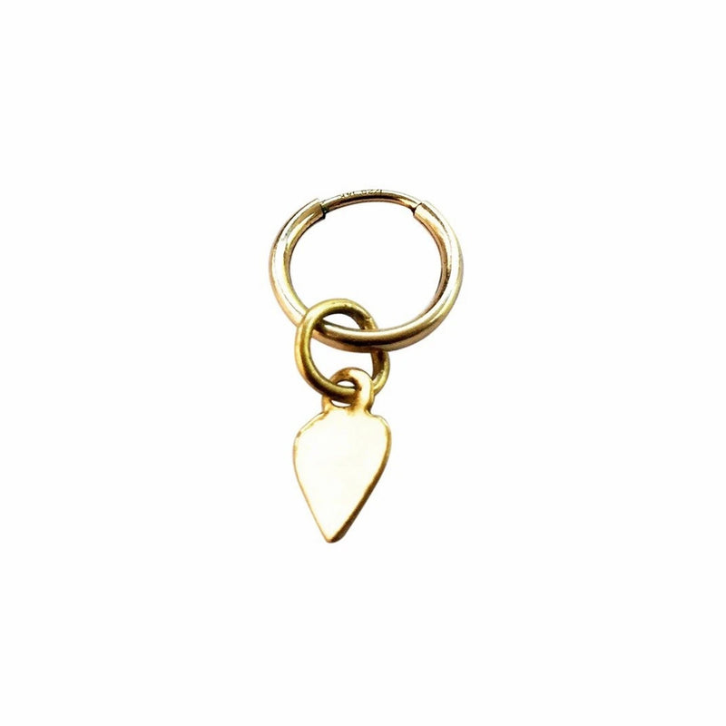 Sanctuaire-Sewit-Sium-mini-heart-hoop-earring-gold