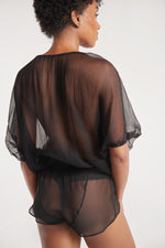 Sanctuaire-Suzy-Black-silk-sleep-shirt