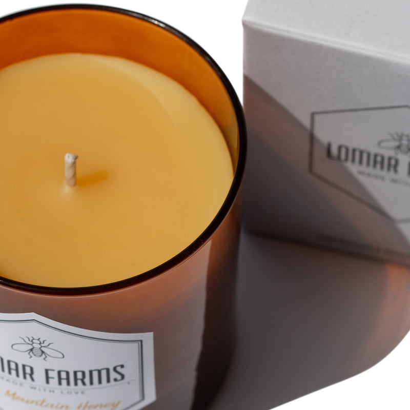Sanctuaire-lomar-farms-mountain-honey-candle