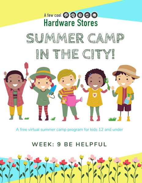 Summer Camp Week 9