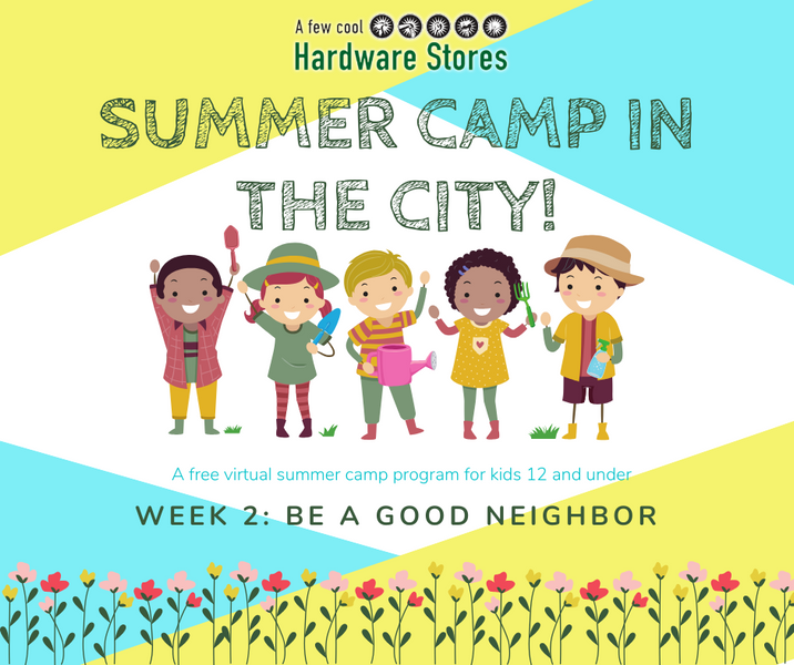 Week 2: Summer Camp in the City
