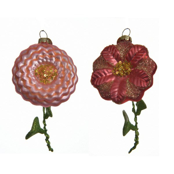Spring Floral Ornaments