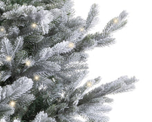 Load image into Gallery viewer, 7ft Pre-Lit Arlberg Frosted Fir