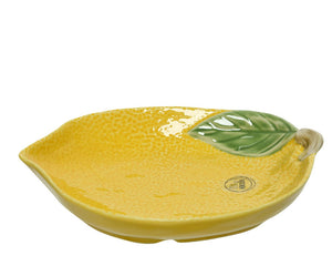 Porcelain Lemon Plate