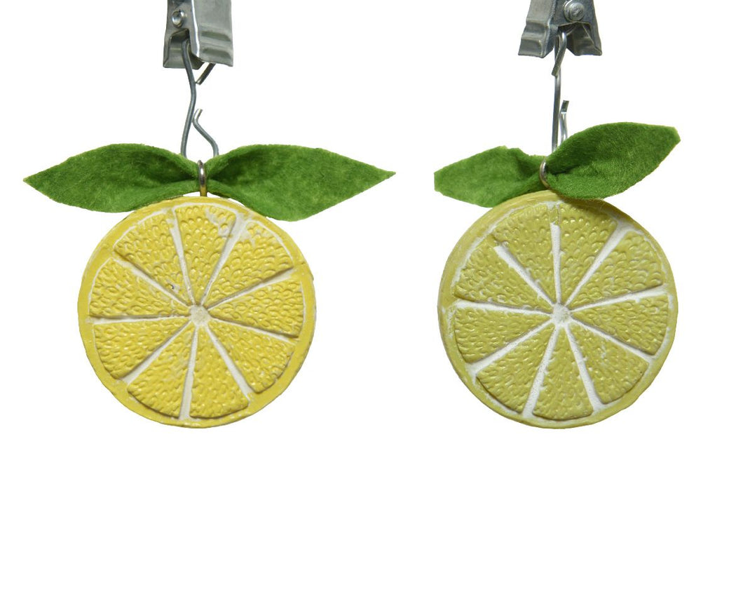 Lemon Tablecloth Weights 4pk