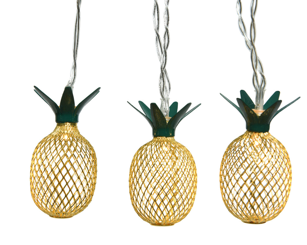 Metal Pineapple LED Lights
