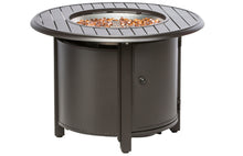 "Load image into Gallery viewer, 50% OFF- Bay Ridge 36"" Round Gas Fire Pit w/ Chairs"