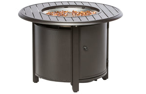 "50% OFF- Bay Ridge 36"" Round Gas Fire Pit w/ Chairs"