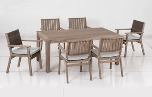 50% OFF - Bethany Dining Table w/ 6 Chairs