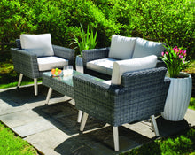 Load image into Gallery viewer, 50% OFF - Valentina Wicker Aluminum Seating Set