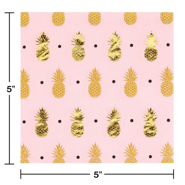 Pineapple Beverage Napkin