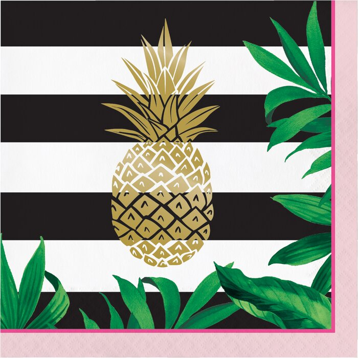 Pineapple Luncheon Napkin