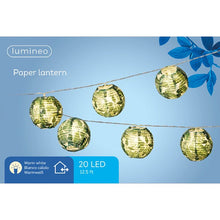 Load image into Gallery viewer, Tropical Outdoor Paper LED Lanterns