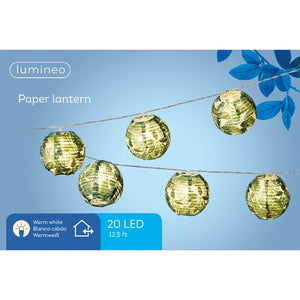 Tropical Outdoor Paper LED Lanterns