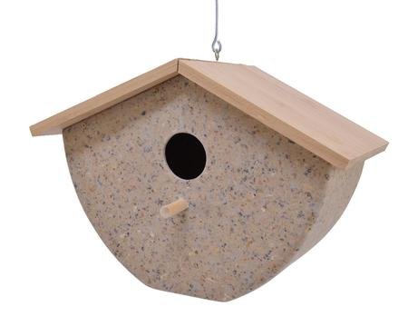 Coffee Husk Bird House