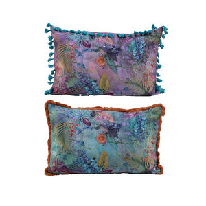 Floral Whimsy Cushion